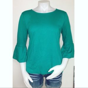 Talbots Bell-Sleeve Top
